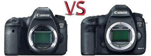 Canon 6D vs Canon 5D Mk III
